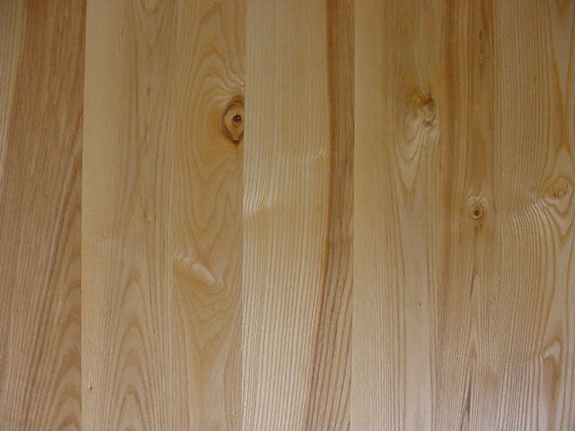 Wide plank Ash, country style 3-6 inch random width, 3-9 foot lengths