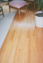 "Williamsburg Red Oak, 3-6"" nom widths, 6-12' lengths - best red oak floor possible."